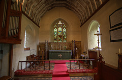 Interior of Saunderton Church, Bledlow Parish