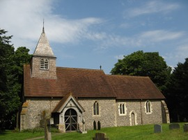 Saunderton Church, Bledlow Parish